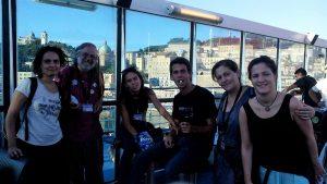 Part del nostre equip de la Caravana a Grècia