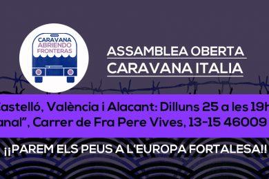 Caravana Italia 2018